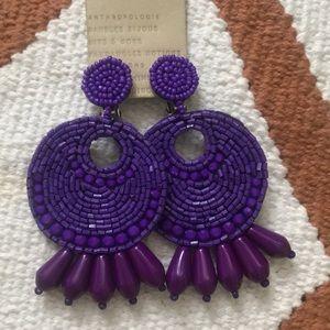 Beautiful Beaded Drop Earrings